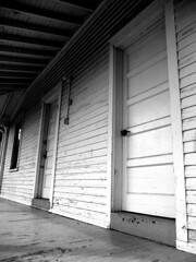 Ghosts of Doors Past (T.L.A.) Tags: sanfrancisco california urban vintage landscape doors victorian bayarea sausalito
