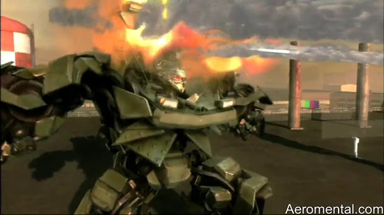juego Transformers 2 screenshot