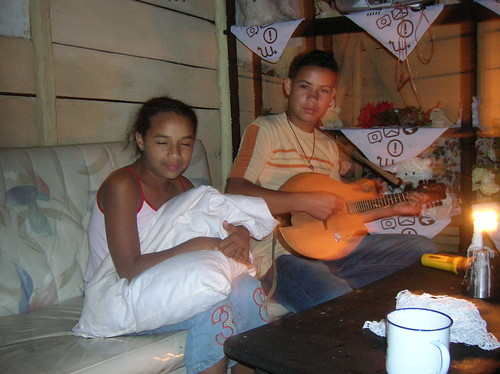 Pedro's kids in Ciénaga
