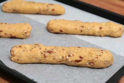 Rouleaux de biscottis