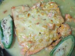 Salmon with Turmeric and Garlic
