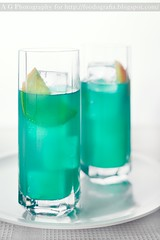 Blue Hawaiian (Alessandro Guerani) Tags: drink cocktail pineapple vodka rum ananas rhum bevanda bluecuraao bluehawaiianlongdrink