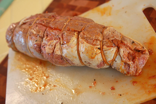 Peppercorn Top Sirloin Stuffed w/ Chorizo