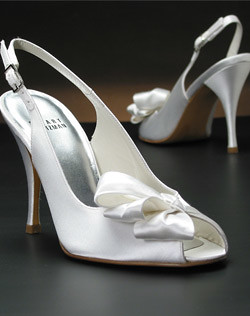 Stuart Weitzman Wedding bridal shoes