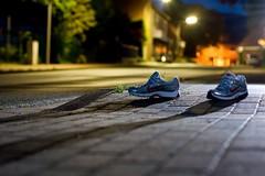 shadow of a runner