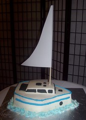 Sailboat Grooms Cake