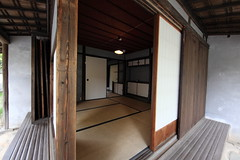 Japanese traditional style SAMURAI house / ( ) (TANAKA Juuyoh ()) Tags: old house architecture japanese design high ancient interior room traditional style hires tatami resolution  5d hi samurai sliding residence res partition  markii