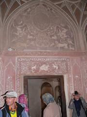 P1090332  Kashan, Iran (Leo Kerner) Tags: iran kashan boroujerdi boroujerdihistoricalhouse