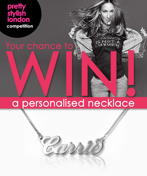 WIN! A personalised necklace