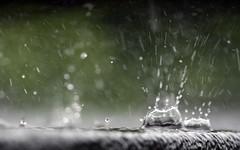 Raining (Mac West Photography) Tags: roof macro water rain droplets drops close air fast selected shutter droplet splash raining upclose liquid