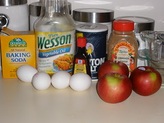 Apple Bread - Ingredients