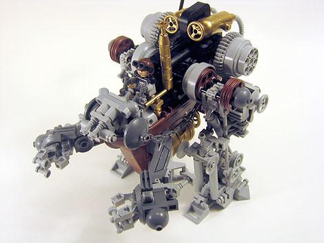 Steampunk Lego mecha - Boing Boing