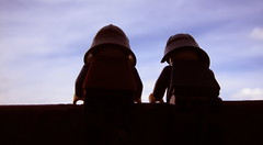 On the Lookout (Jago79) Tags: sky nature silhouette lego onthelookout aolm legoknights