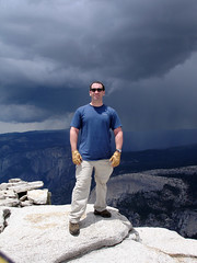 Brian on Half Dome (Curry Village, California, United States) Photo