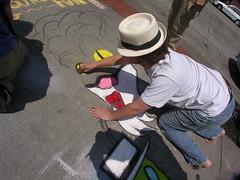 Adam The Alien, Chalk Master