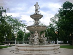 Budapest in Hungary - Parks and Statues #4