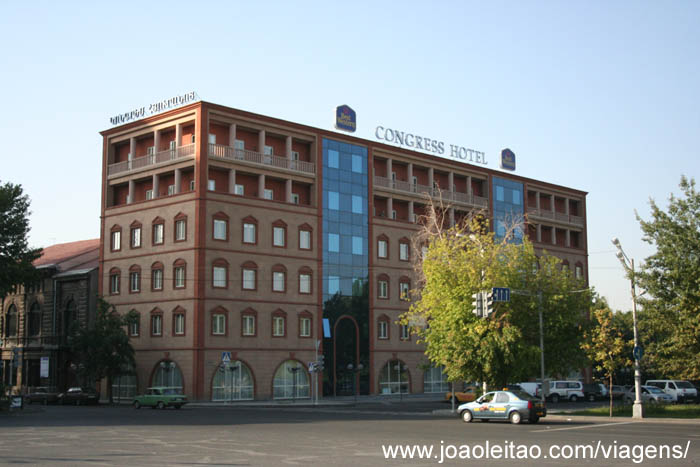 Congress Hotel Erevan, Hotel em Yerevan na Arménia