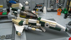 The CX520 IronParrot (LegoLord.) Tags: lego starfighter