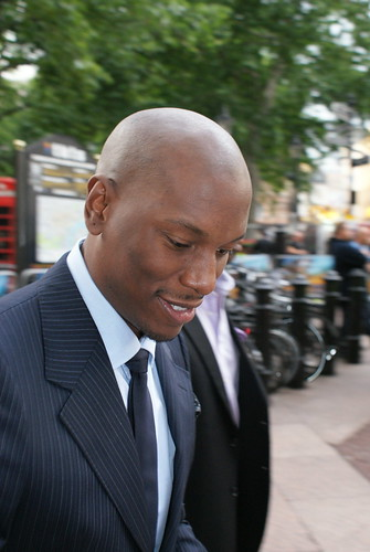 Transformers 2 Londres Tyrese Gibson