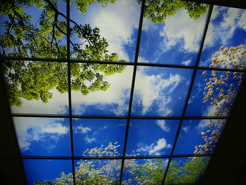 Hospital ceiling