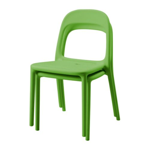 Workalicious urban stacking chair ikea - Chaise en plastique ikea ...