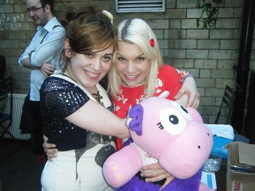 My pink hippo