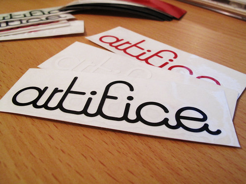 artifice logo sticker