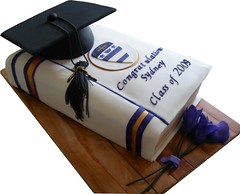 Cap and Book (BonnBoni) Tags: cakes cake graduationcap graduationcake bookcake fondantbook