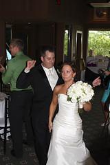 Arrival of the Bride and Groom (unit2345) Tags: chris ohio dublin cari