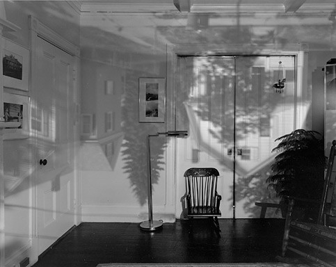 abelardo morell Houses Across the Street in Our Living Room, 1991