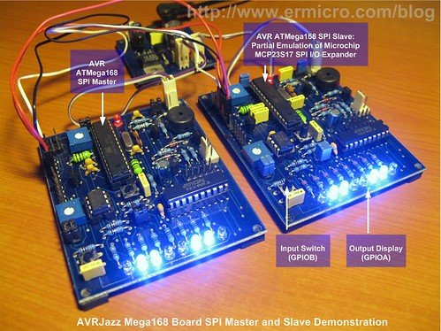 Using Serial Peripheral Interface (SPI) Master and Slave with Atmel AVR Microcontroller (3)