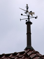 Top man (:Linda:) Tags: people man germany leute village w thuringia letter weathervane written initial mensch wetterfahne buchstabe obermassfeld toppeople werravalley nonalivepeople