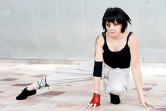 Faith Connors (yeshayden) Tags: cosplay mirrorsedge ginzii faithconnors crackcon