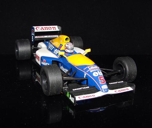 williams renault fw14b. Williams Renault FW14B, winner