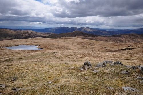 South from Beinn Stacath