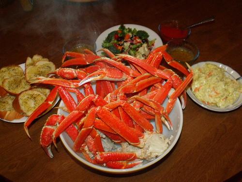 Crab Leg Dinner 2010 0518