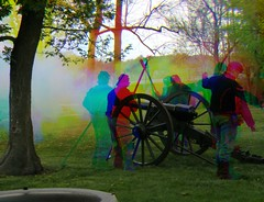 Harris shutter cannon fire revisited