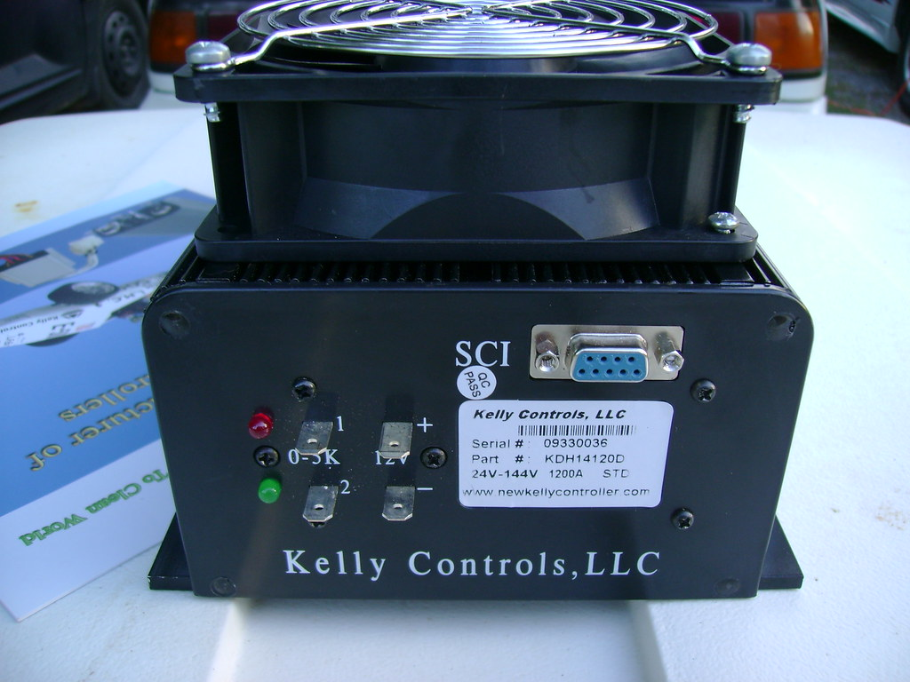 New Kelly Controller - 1200Amp/144volt