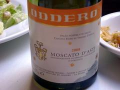 Moscato D'Asti (moknits) Tags: salad wine antipasto becco moscato moscatodasti oddero