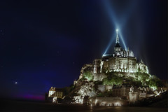 mont saint michel (hh96) Tags: france saint night view michel normandy mont dri hdr