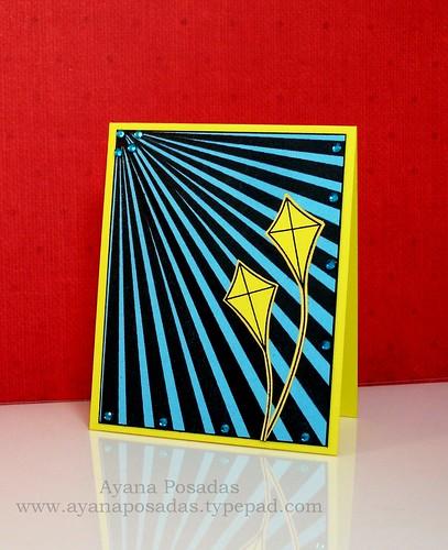 Turquoise Rays & Yellow Kites (1)