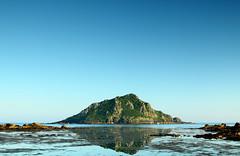 The Mewstone (@Gking_photo) Tags: sea seascape reflection water rock coast 24105mmf4l seaside coastal devon westcountry wembury southhams mewstone canon50d