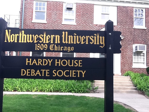 Northwestern University Hardy House Debate Society