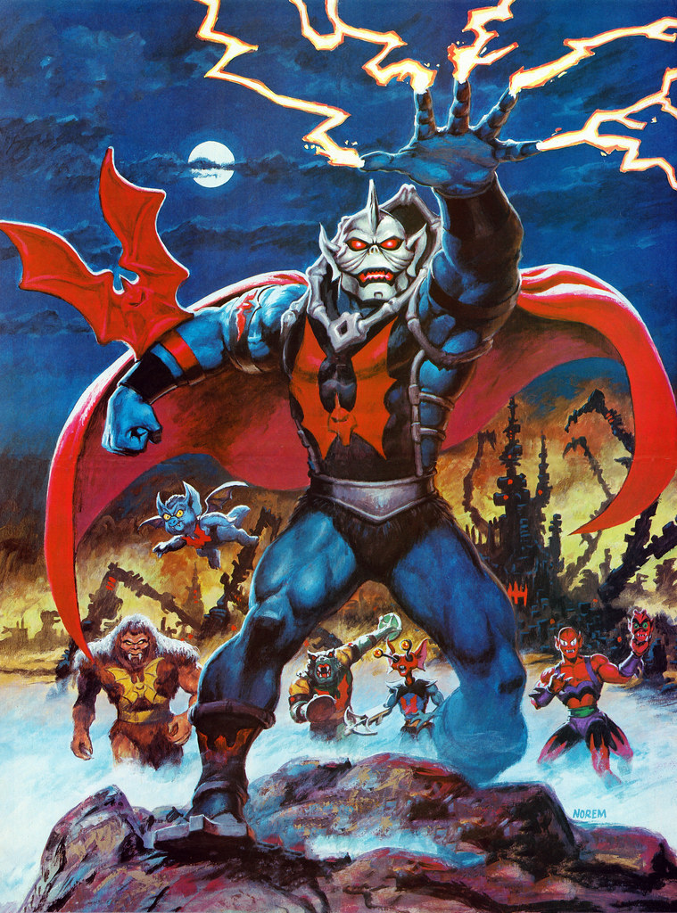 Masters Of The Universe - 9 (painting by Earl Norem)