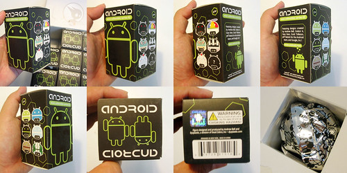 The Android Mini Series 2 boxes