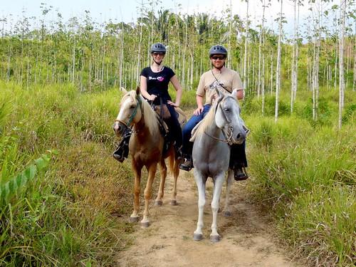 Horseback Riding at Chaa Creek, Belize