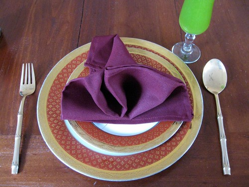 Thai place setting