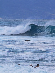 the curl (bluewavechris) Tags: ocean sea water hawaii surf action surfer tube scenic wave maui curl swell