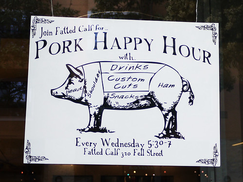 pork happy hour