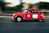 #11 in Paris (Marc Benslahdine) Tags: paris car citroen voiture route 2cv panning lightroom filé traitement canonef50mmf18ii dedeuche marcopix canoneos5dmkii tripax ©marcbenslahdine marcopixcom